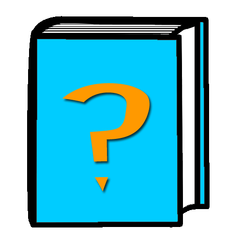 book with question mark