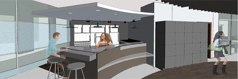 Teen Center rendering