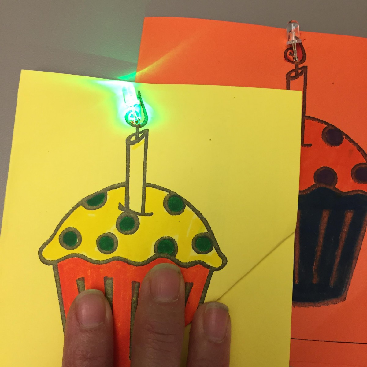 Led Greeting Card Craft Teens At Sfpl