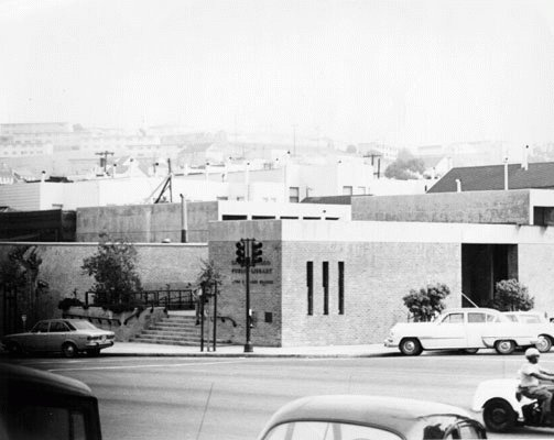 Bayview Branch Library in 1970