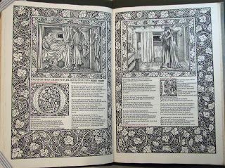 Page from The Works of Geoffrey Chaucer