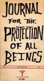 Cover of Journal for the Protection of All Beings