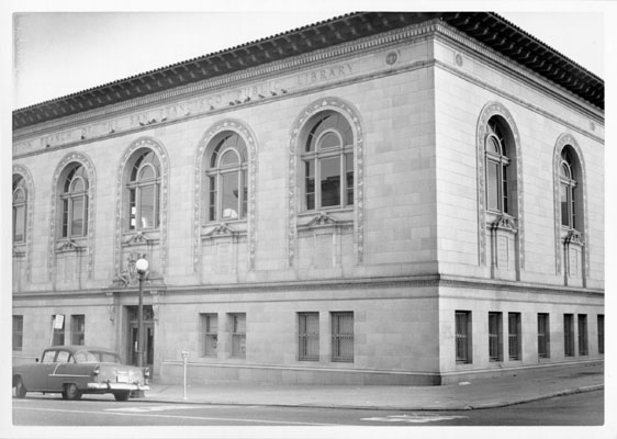 Historic Image of Mission Library