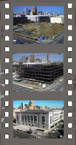 Image representing video of Main Library construction