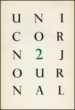 Cover of Unicorn Journal
