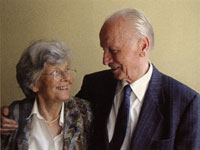 Gudrun Zapf von Hesse and Hermann Zapf
