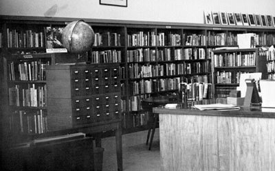 Visitacion Valley Branch interior in 1970