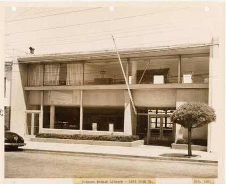 Historic Image of Potrero Library