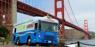 Bookmobile at the Golden Gate Bridge