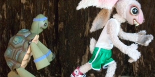 tortoise and hare puppets