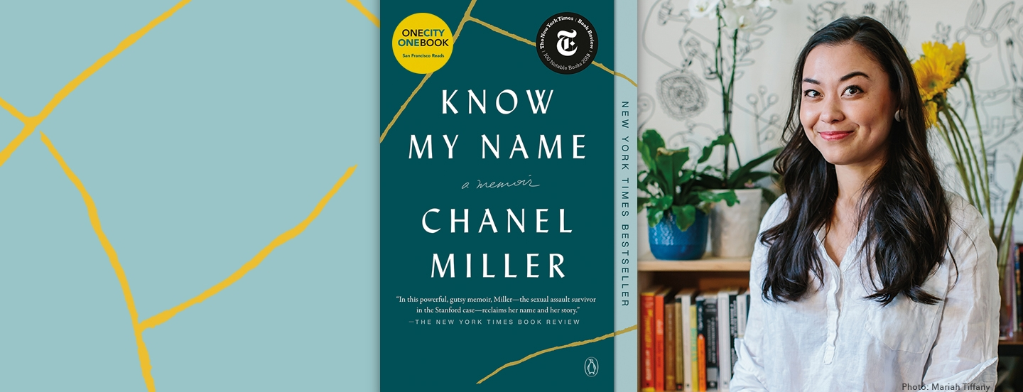 Annual book selection, Know My Name, a memoir by Chanel Miller. New York Times Bestseller. View more details about the One City One Book selection for 2021.