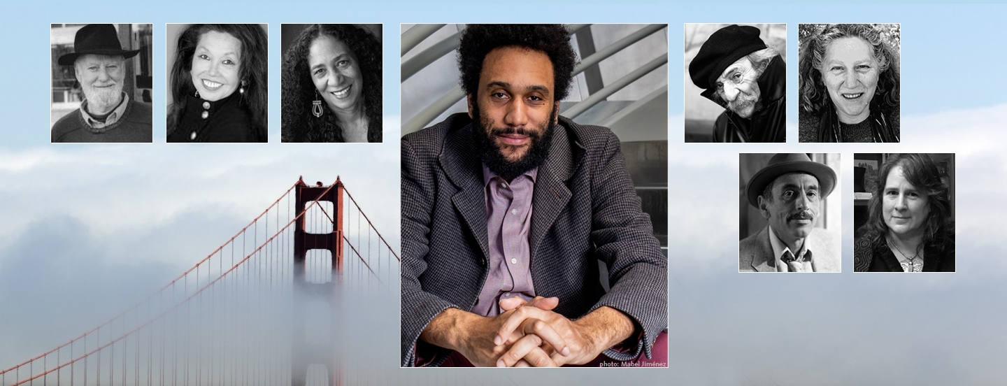 National Poetry Month. Join Tongo Eisen-Martin, San Francisco's 8th Poet Laureate, and family for an evening of poetry
