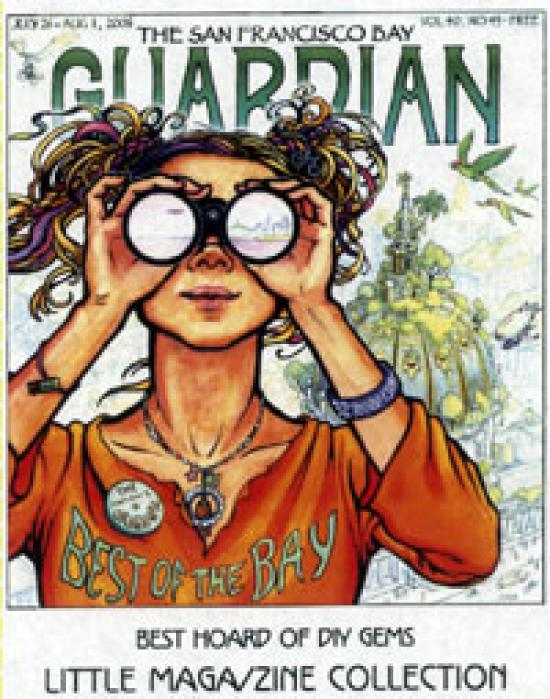 Cover of bay Guardian, 2006