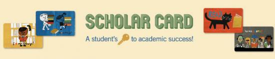 Scholar Card - A student's key to academic success!