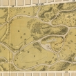 Detail of 1872 map of Golden Gate Park