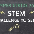 Summer Stride 2020 STEM Challenge Yo Self