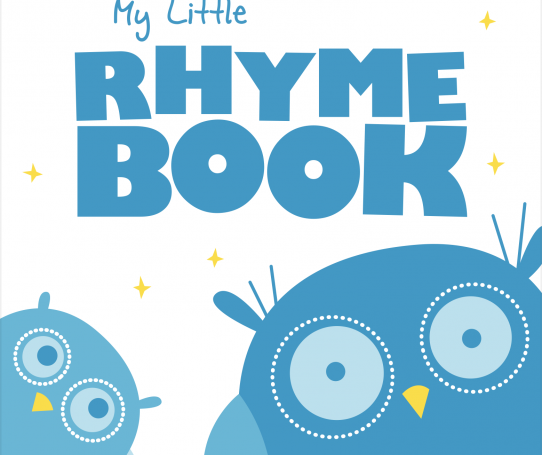 My Little Rhyme Book - English