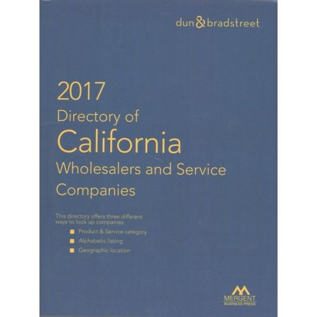 Directory of California Wholesalers and Service Companies