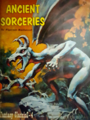Cover of Ancient Sorceries anthology