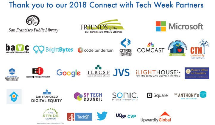 Connect With Tech 2018 Partners