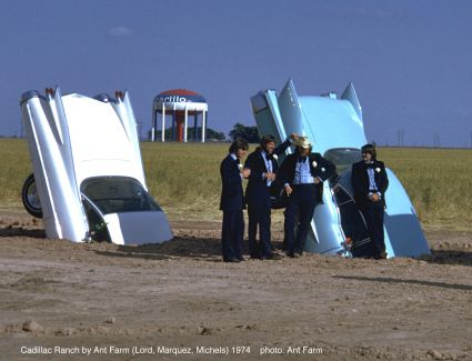 Ant Farm - Cadillac Ranch photo