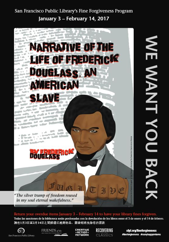 Fredrick Douglass book cover